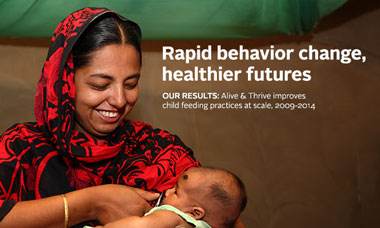 Rapid behaviour change, healthier futures