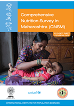 Comprehenaive Nutrition Survey in Maharashtra 2012