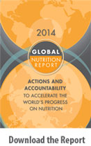 Global Nutrition Report 2014