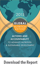 2015 Global Nutrition Report