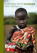 Download report: A Life Free from Hunger: Tackling child malnutrition